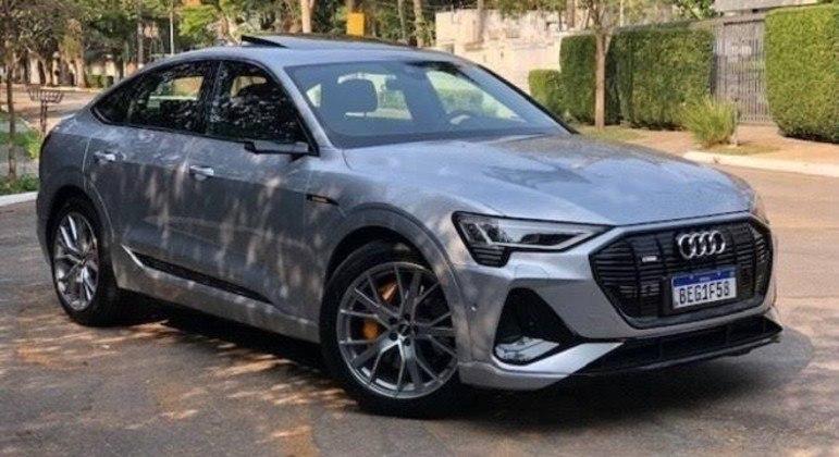 e-tron Sportback é o mais recente modelo da Audi com tração elétrica à venda