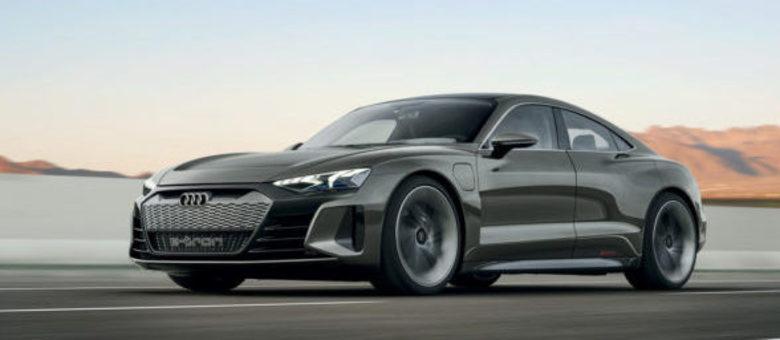 A primeira versão foi apresentada em 2018 mas só no fim do ano o e-Tron GT estará no mercado