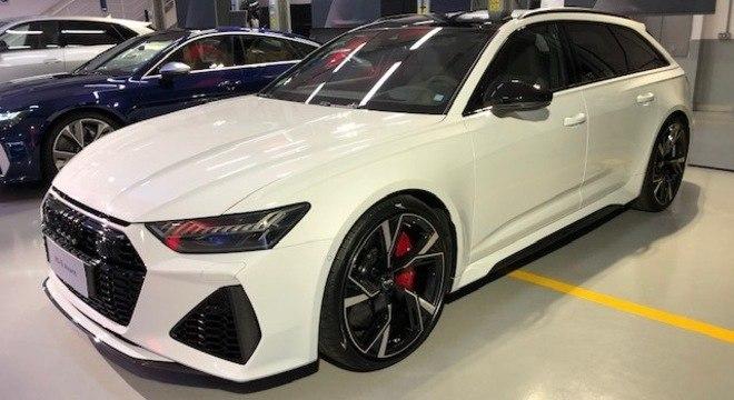 Audi A6 Avant  é a perua esportiva com a receita da linha RS e preço de quase R$ 800 mil