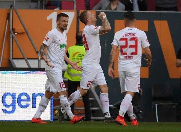 Augsburg - Pontos: 27 / Jogos: 25 / Vitórias: 7/ Empates: 6 / Derrotas: 12 / Gols: 36
