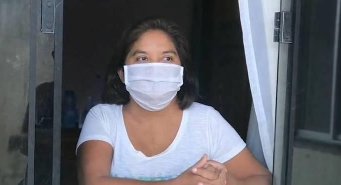 Augusta faz parte do grupo de risco por ter nascido com problema cardíaco grave