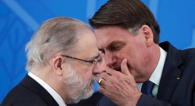 Aras foi escolhido para assumir a PGR por Bolsonaro, que ignorou a preferência dos procuradores