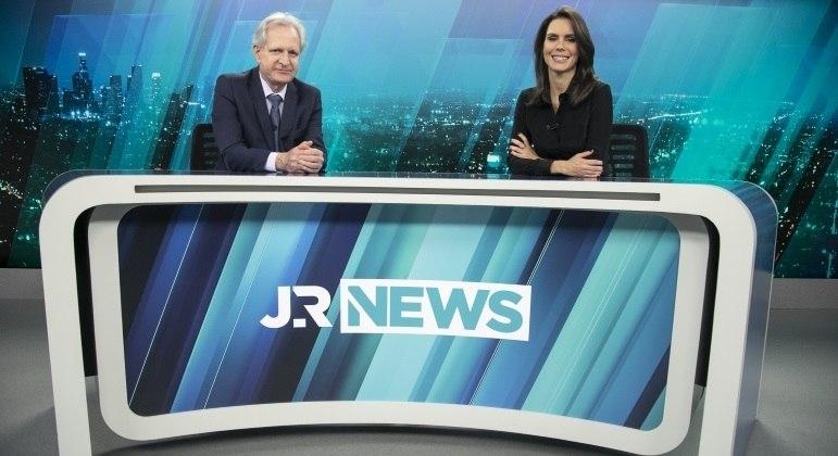 Augusto Nunes e Camila Busnello estreiam no JR News na próxima segunda (19)