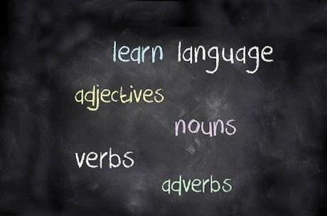 Aula de inglês, inglês, palavras em inglês