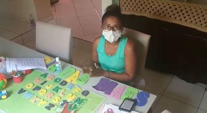 Desde 18 de março, alunos da educação infantil no interior da Bahia têm aulas a distância