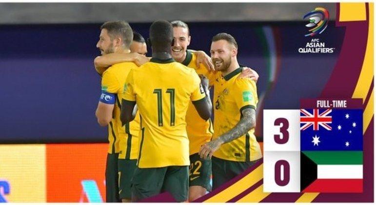 Austrália, a lider absoluta do Grupo B da Ásia
