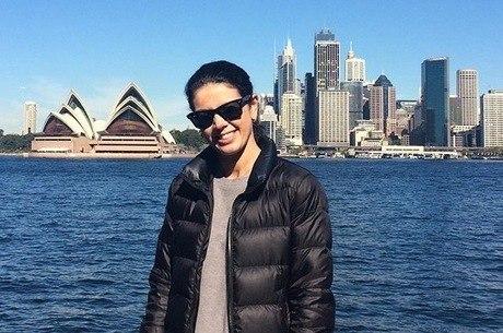 Luciana tem um perfil no instagram sobre o país