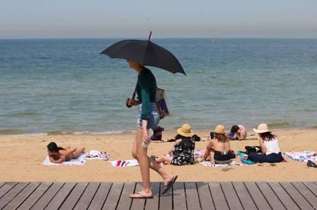 Austrália registra média de 41.9° C