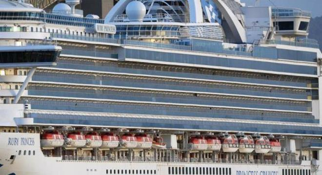 Navio está atracado em Sydney desde março