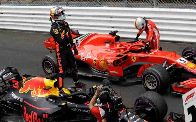 Austrália - Daniel Ricciardo - Mônaco 2018.