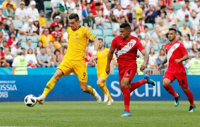 Austrália tentou, mas pouco criou após o gol que deu números finais à partida.
