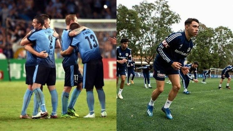Austrália - Melbourne Victory e Sydney FC - 4 títulos