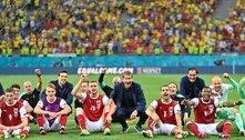 Também a Áustria e a Dinamarca prosseguem às oitavas da Euro2020