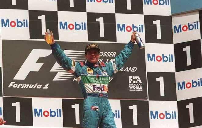Áustria - Gerhard Berger - GP da Alemanha 1997.