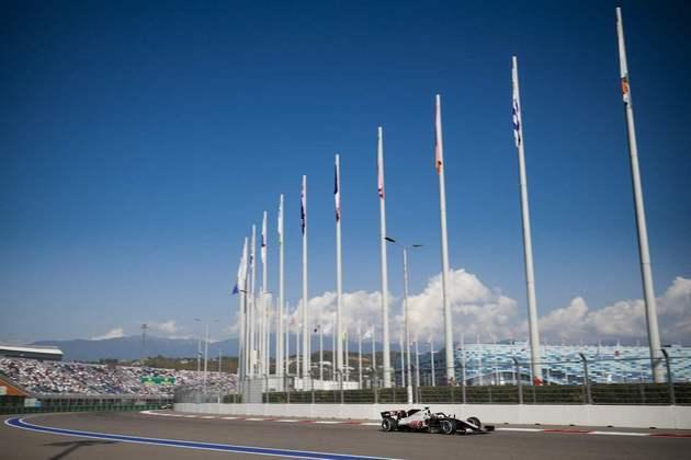 Autódromo de Sóchi recebeu espectadores neste fim de semana