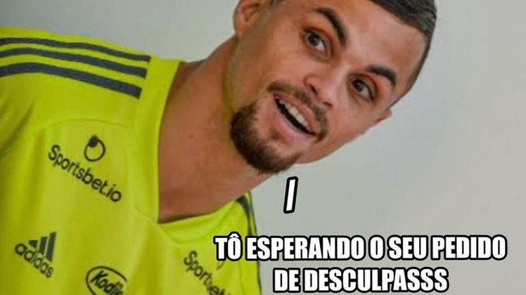 Autor do único gol da partida, Michael foi até comparado a Messi e Cristiano Ronaldo em brincadeiras nas redes sociais. Veja na galeria os memes da vitória do Flamengo pela Libertadores! (Por Humor Esportivo)