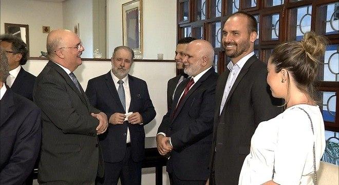 Autoridades, como o procurador-geral da República, estiveram no evento no DF