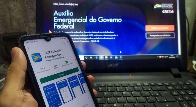 Caixa vai creditar auxílio na conta digital de nascidos em junho