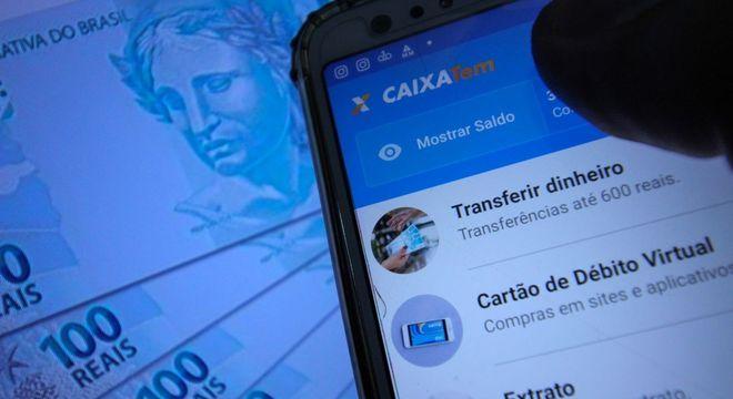 Pagamento primeiro é feito em conta digital, que pode ser movimentada por aplicativo