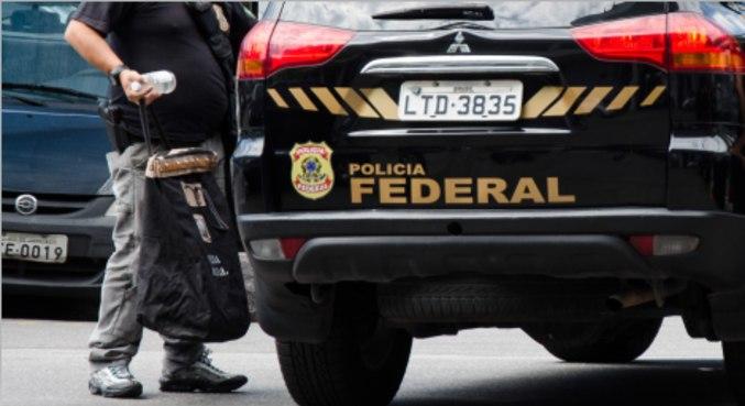 Operação feita pela Polícia Federal no Rio de Janeiro
