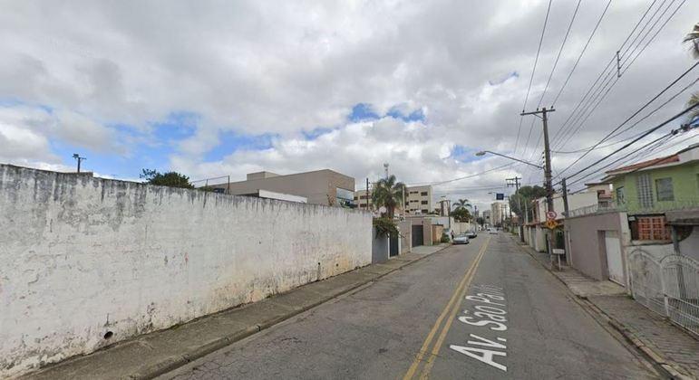 Acidente aconteceu na av. São Paulo, na Vila Oliveira, em Mogi das Cruzes (SP)