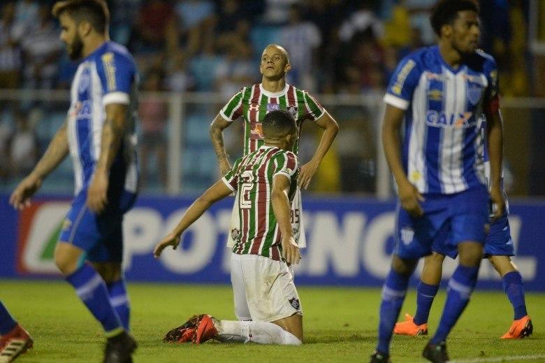 Fluminense perde para o Avaí e é eliminado da Copa do Brasil