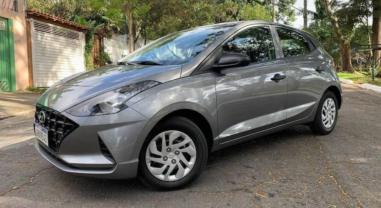 Hyundai HB20 fechou a lista entre os cinco modelos mais vendidos