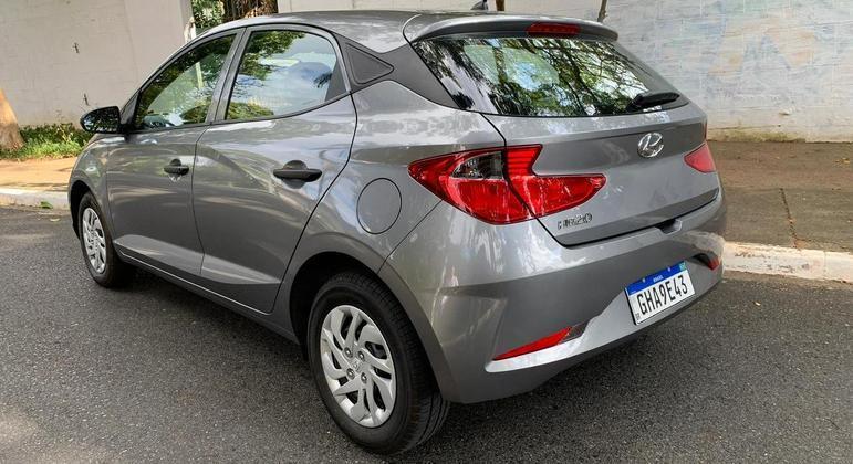 Rodamos cerca de 700km com o carro que fez uma média de 11,7km/litro com etanol na cidade