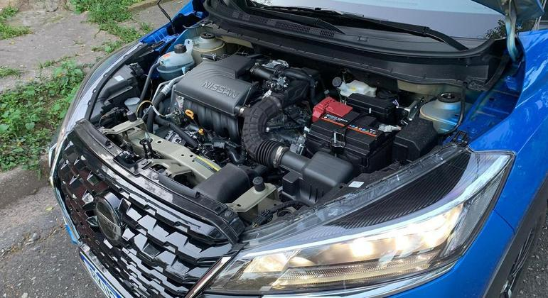Motor tem torque máximo de 15,5 kgfm a 4.000 rpm