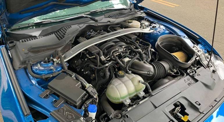 Modelo vem equipado com motor V8 Coyote