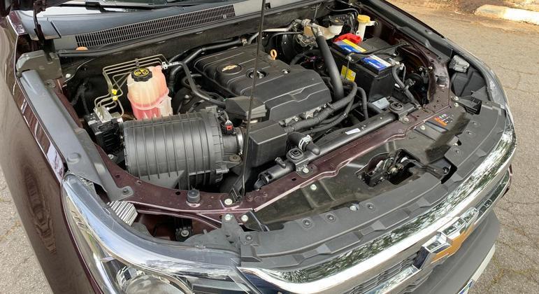 Motor tem boa potência embora entregue em regimes de rotação mais alto