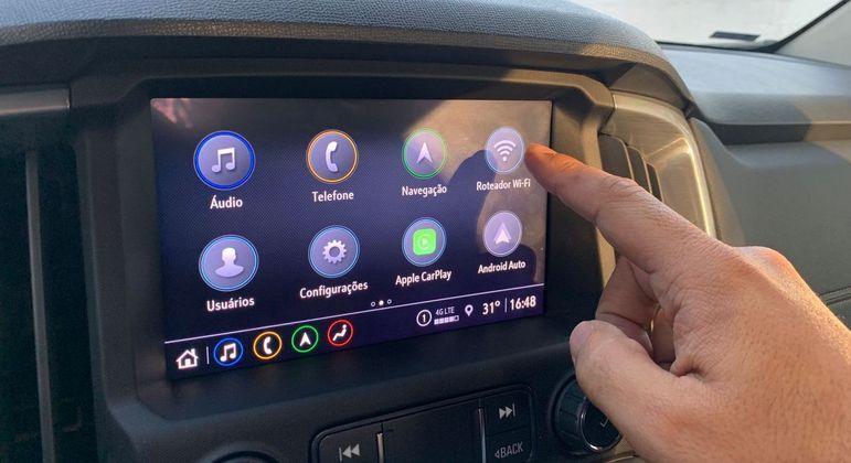 Carro tem multimídia MyLink de alta resolução, sistema de concierge OnStar e Wi-Fi nativo