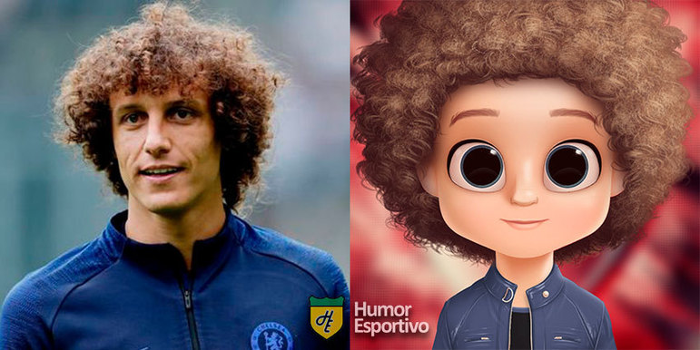 Avatar dos jogadores: David Luiz