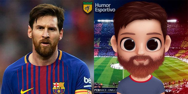 Avatar dos jogadores: Lionel Messi