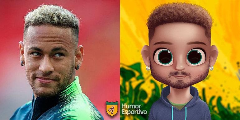 Avatar dos jogadores: Neymar
