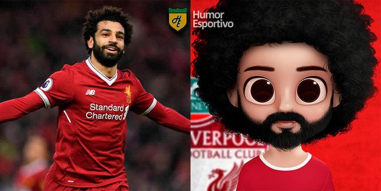 Avatar dos jogadores: Salah