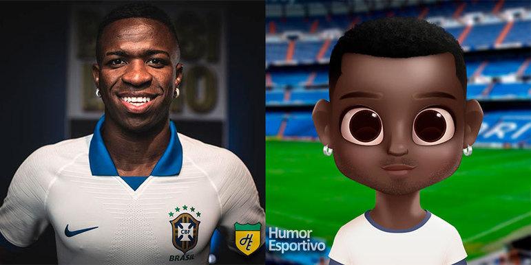 Avatar dos jogadores: Vinicius Jr
