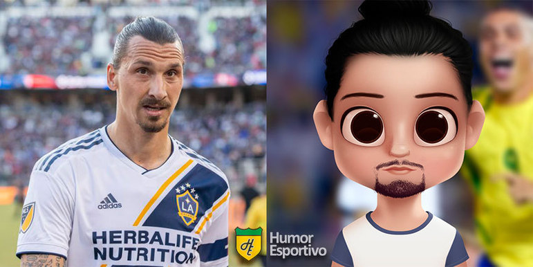 Avatar dos jogadores: Zlatan Ibrahimovic