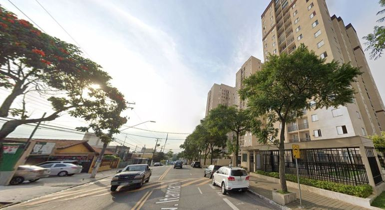 Acidente aconteceu na avenida Itamarati, em Santo André, na Grande São Paulo