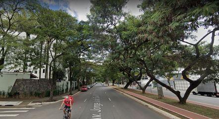 Avenida Jorge João Saad, onde carro foi roubado