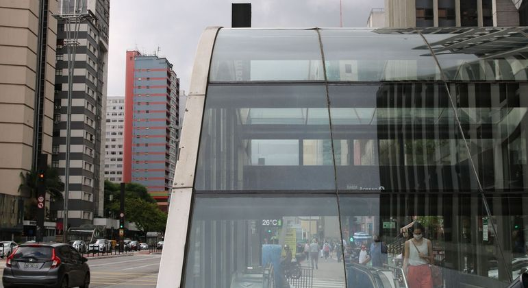 Avenida Paulista, símbolo da capital, que faz aniversário no dia 25 de janeiro