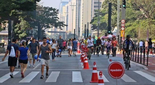 Outras vias além da Avenida Paulista estarão abertas durante a manhã