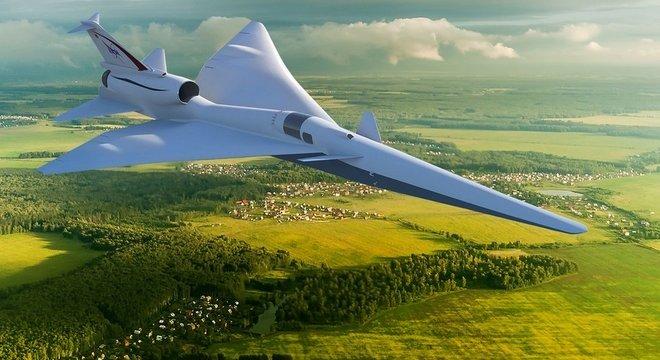 A Nasa quer desenvolver aeronaves que não gerem 'estrondo sônico' ao quebrar a barreira do som
