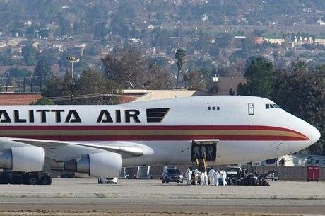 Avião com americanos chegou nos EUA na quarta-feira
