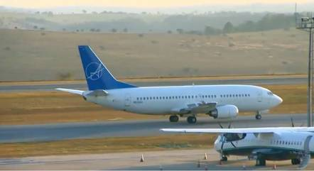 Aeronave pousou no Aeroporto Internacional de BH