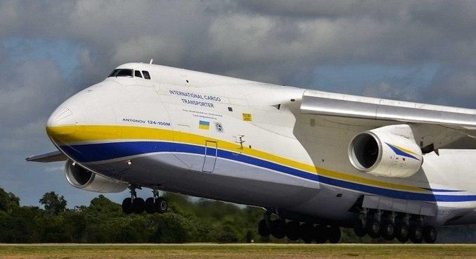Antonov AN-124 é o segundo maior avião civil de carga do mundo