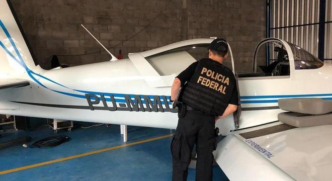 Operação da PF busca aeronaves usadas para o tráfico de drogas