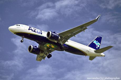 Azul opera modelos da Embraer, Airbus, ATR e Cessna
