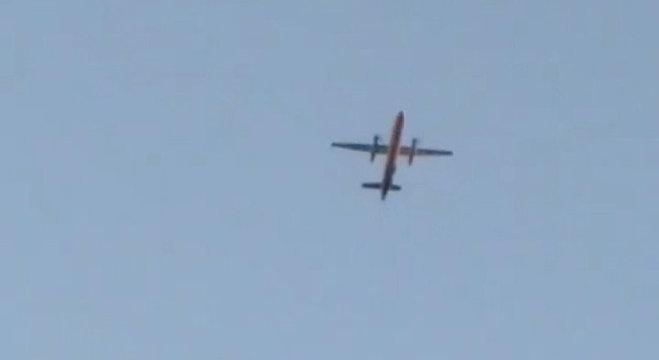 Imagem mostra o avião que caiu em Seattle, nos EUA