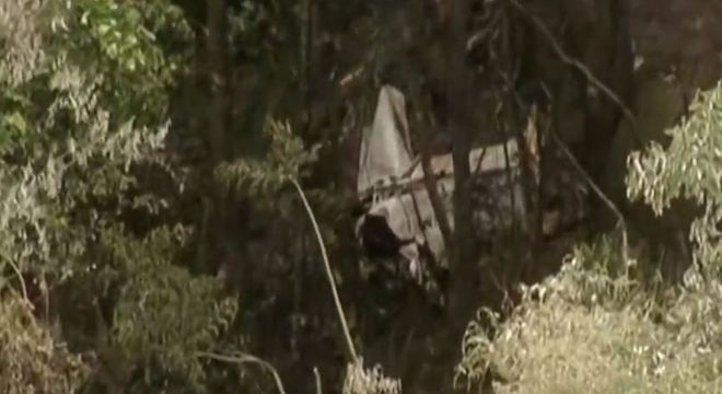Aeronave bimotor cai na região metropolitana de São Paulo